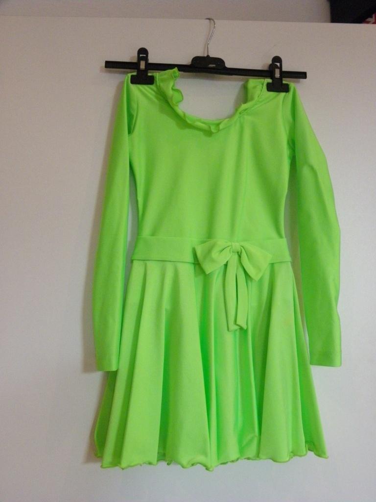 a121f731d3c8 Detské neónové tanečné šaty